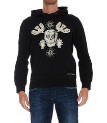 alexander mcqueen skull hoodie
