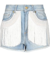 .amen. denim shorts