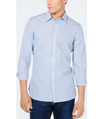 calvin klein men's extra-fine cotton slim-fit shirt