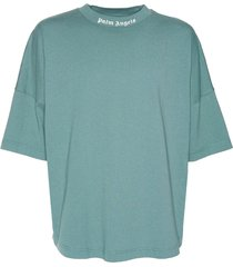 oversized pine green t-shirt
