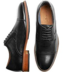 florsheim surge black cap-toe oxfords