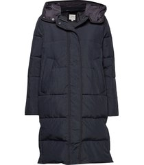 long puffer fodrad rock svart lee jeans