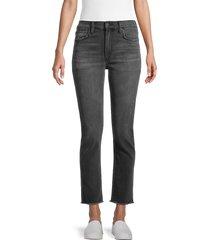joe's jeans women's high-rise ankle straight leg jeans - fernie - size 28 (4-6)