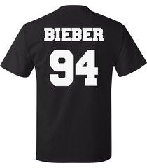 justin bieber 94 jersey short sleeve unisex t-shirt tee