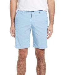 men's tommy bahama chip shot oxford shorts, size 40 - blue
