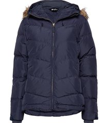 hunskor down jacket gevoerd jack blauw skogstad
