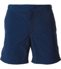 orlebar brown 'bulldog long' swim shorts - blue