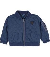 chaqueta reversible azul pillin