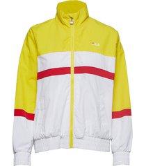 kaya wind jacket sommarjacka tunn jacka gul fila