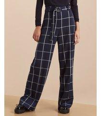 pantalón azul desiderata bold square