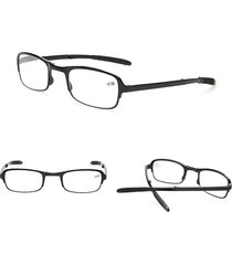 occhiali da lettura portatili pieghevoli occhiali pieghevoli pieghevoli in resina anti-affaticamento