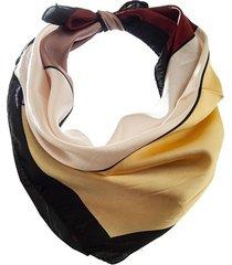 pañuelo amarillo bohemia estampado