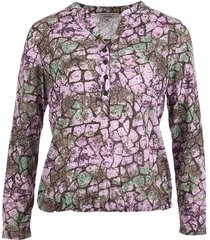 blouse paars