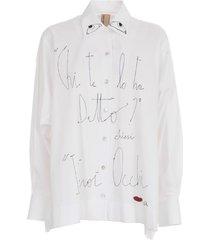 antonio marras l/s shirt w/written