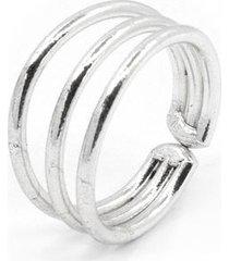 anillo de mujer plata 3 fili micro colection by vestopazzo