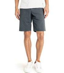 men's good man brand wrap diamond dash slim fit shorts, size 33 - grey