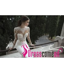 sexy wedding dress,wedding gown,white wedding dress,lace prom dress,sheath gowns
