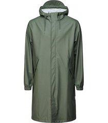 rains regenjas fishtail parka olive