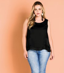 regata cetim feminina secret glam preto