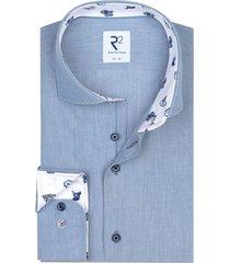 r2 amsterdam shirt lichtblauw