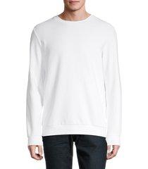 theory men's danen sweatshirt - white - size xxl