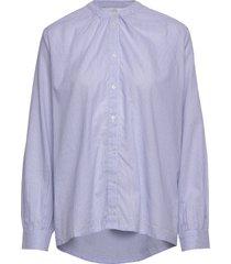 aline shirt overhemd met lange mouwen blauw nué notes