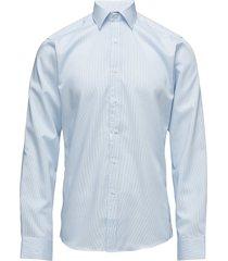 fine twill | california - slim fit skjorta business blå seven seas copenhagen