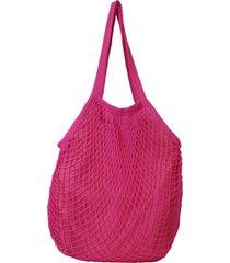 bolsa de rede bag dreams rosa pink - rosa - feminino - dafiti