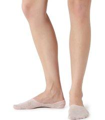 calzedonia - invisible glittery socks, 34-36, pink, women