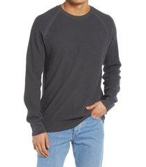 men's benson textured sweater, size x-large - black