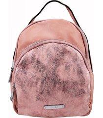 mochila chiqui rosado lilás carteras