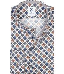 geruit overhemd r2 mouwlengte 7