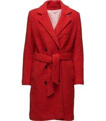 ulrike jacket 10150 outerwear coats wool coats rood samsøe & samsøe