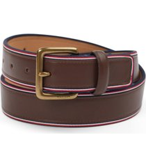 tommy hilfiger men's striped belt
