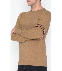 tommy hilfiger th monogram branded sweater tröjor tannin
