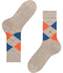 burlington socks tweed argyle men socks | grey marl | 21924-3920