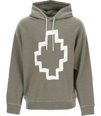 marcelo burlon cross oversized hoodie