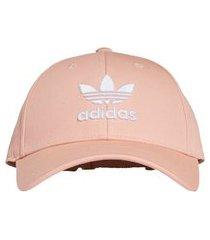 boné aba curva adidas trefoil baseball rosa