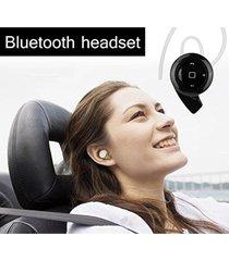 audífonos bluetooth deportivos, a8 auriculares estéreo audifonos bluetooth manos libres  mini inalámbrico manos libres universal para todos los teléfonos (negro)