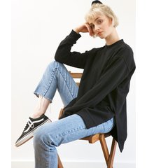 bluza czarna long