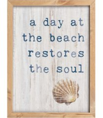 p graham dunn a day at the beach restores the soul frame art