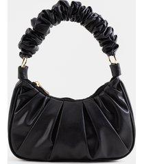 women's karen hobo handbag in black by francesca's - size: one size