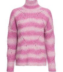 maglione a collo alto (fucsia) - bodyflirt