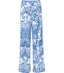 pantaloni a palazzo (viola) - bodyflirt boutique