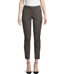 atm anthony thomas melillo women's tapered cargo pants - pavement - size 12