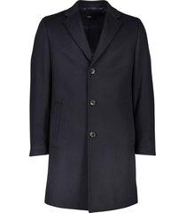 hugo boss jas stratus 3 donkerblauw wol
