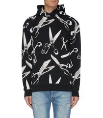 x medicom 'accord' graphic print hoodie