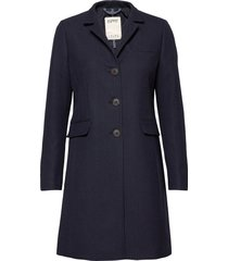 coats woven tunn rock blå esprit casual