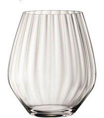 conjunto de 4 copos de vidro mixing 580ml riedel