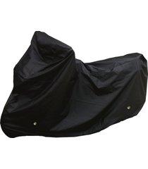 pijama carpa de moto con argollas anti-robo impermeablessdc calibre 18 - negro